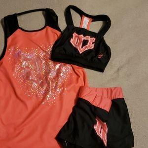 Varsity Ice allstars program practice wear